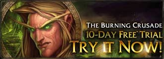 Free World of Warcraft download Burning Crusade